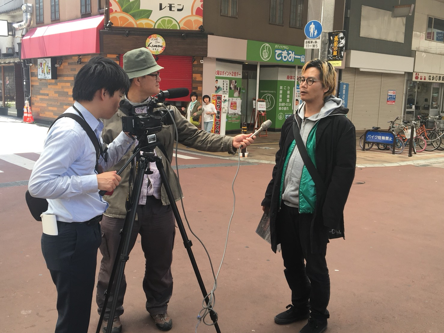 NHKニュースに出ます。