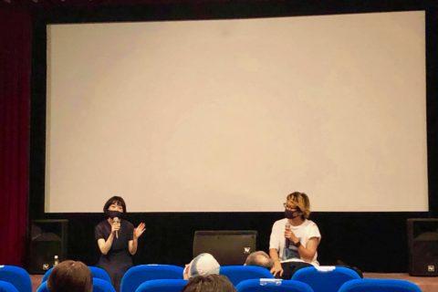7/25 新潟シネ・ウインド さん初日舞台挨拶と桜井美奈さんトークショーしました!