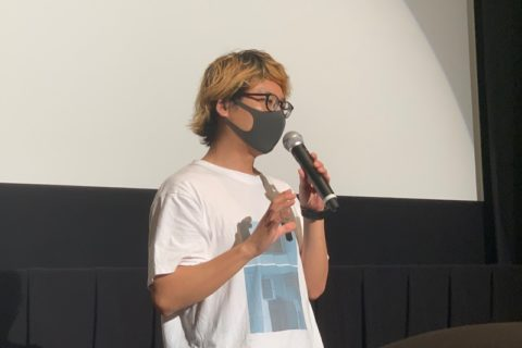 7月5日(日)12:00回終了後、新宿K's cinemaさんにて監督迫田公介舞台挨拶をさせていただきました。(上映延長記念)